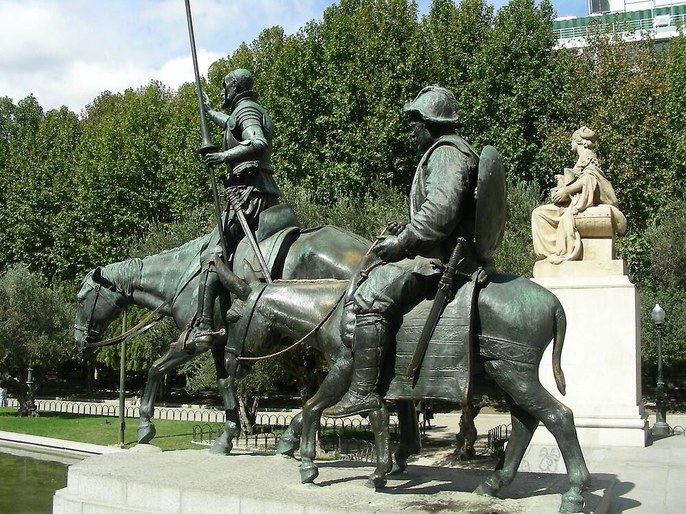 El ingenioso Hidalgo,Dn. Quijote de la Mancha............... by cieloverde