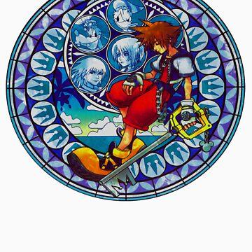 Kingdom Hearts - Sora's Station of Awakening  by Fayzun