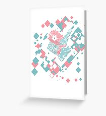 Porygon Greeting Card