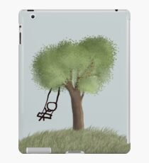 tree swing iPad Case/Skin