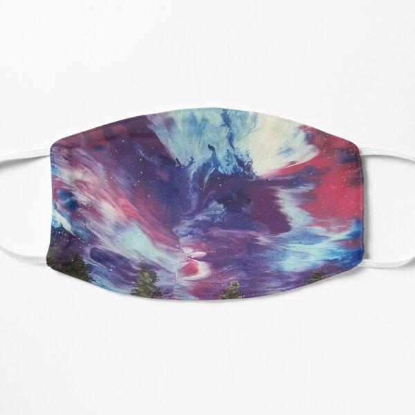 Aurora Galaxy Painting Flat Mask