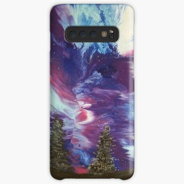 Aurora Galaxy Painting Samsung Galaxy Snap Case