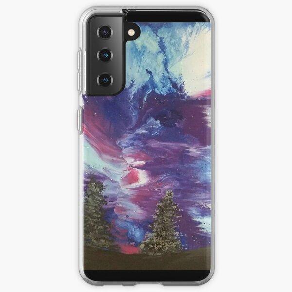 Aurora Galaxy Painting Samsung Galaxy Soft Case