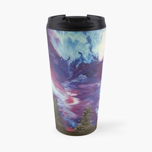 Aurora Galaxy Painting Travel Mug