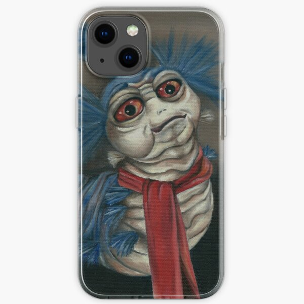 Labyrinth Worm - Oil Painting  iPhone Soft Case