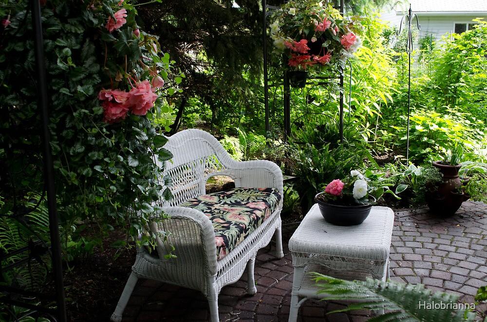 The Secret Garden by Halobrianna