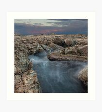 Misty Waters Art Print