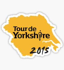 Tour de Yorkshire 2015 Sticker