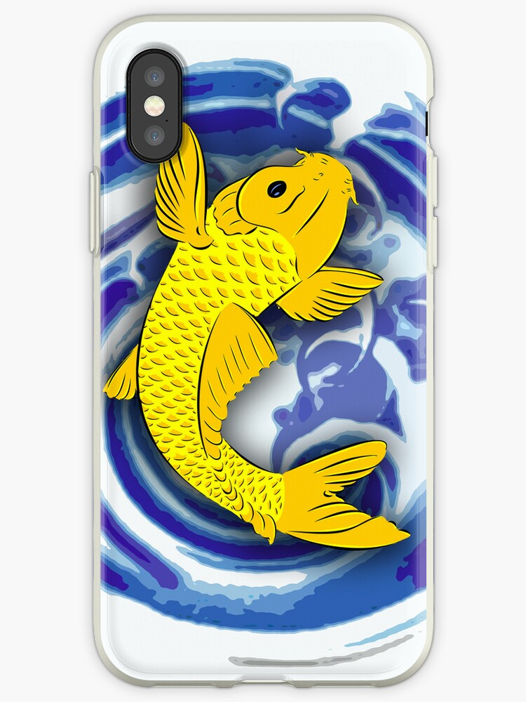 Koi Fish IPhone Cover by GraphicLife