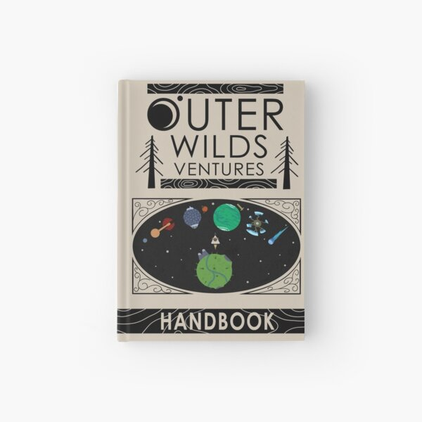 Outer Wilds Ventures Handbook Hardcover Journal