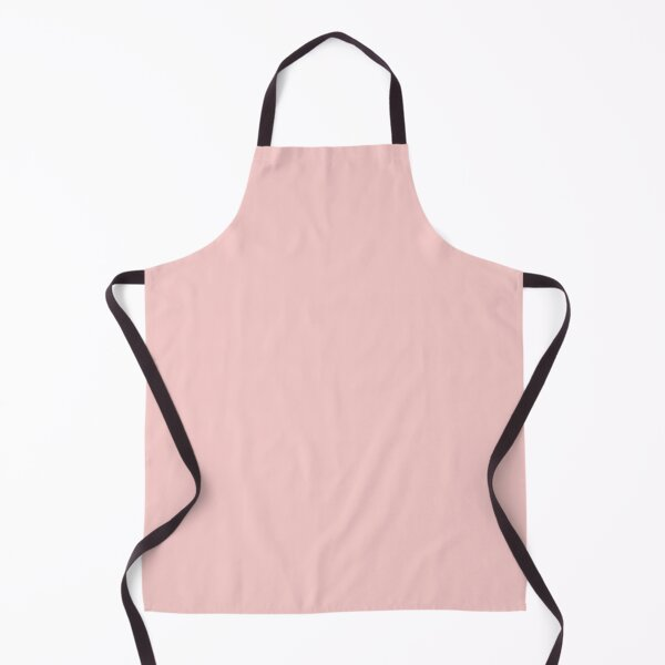 Plain Pink Apron