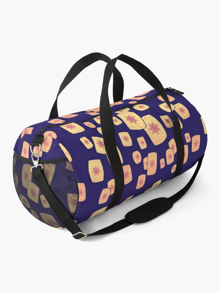 Alternate view of Floating Lanterns Gleam Duffle Bag