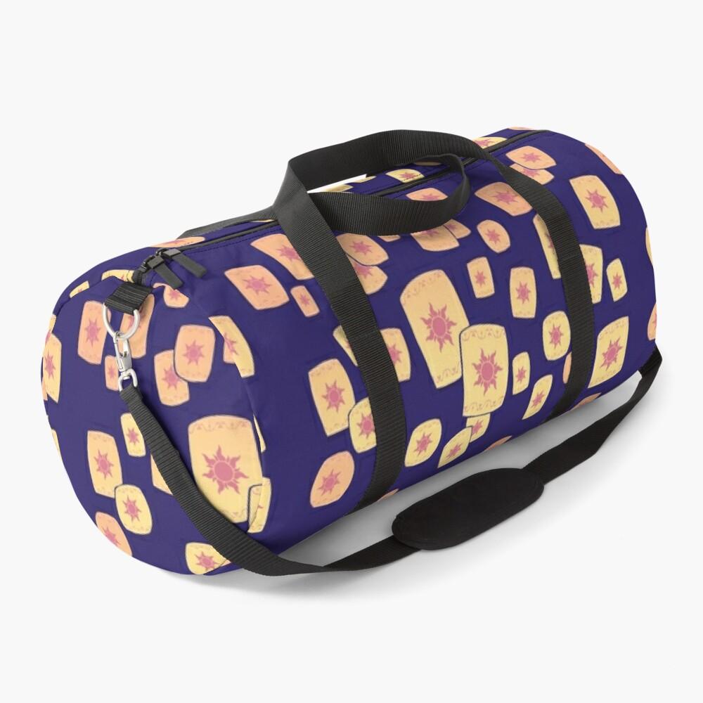 Floating Lanterns Gleam Duffle Bag