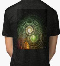 Exploding Swirls Tri-blend T-Shirt
