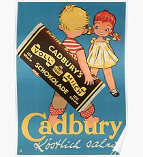 Vintage poster - Chocolate Ad Poster