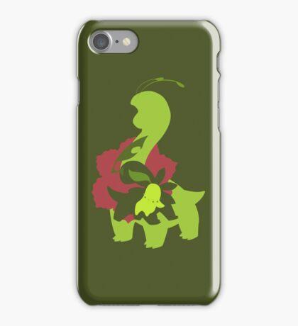 Chikorita - Bayleef - Meganium iPhone Case/Skin