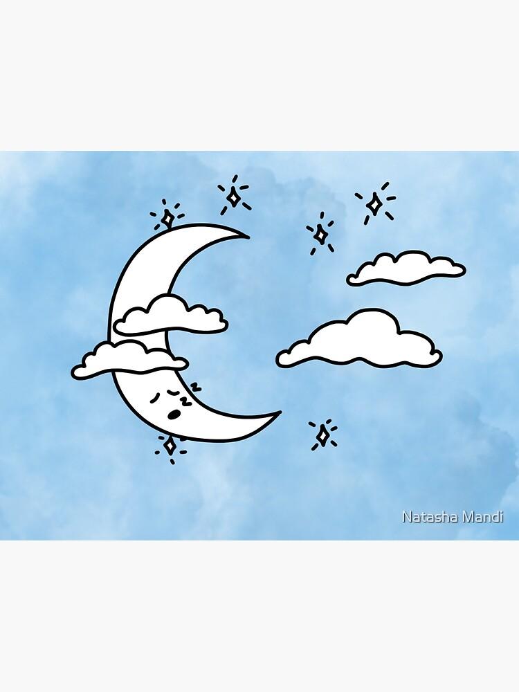 Sleepy Moon by nmandi18