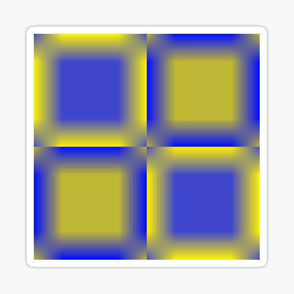 Colors, Cobalt Blue  Sticker