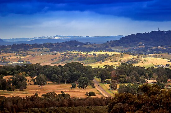 Storm over Menangle by Mark Freeman