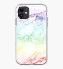 RAINBOW MARBLE iPhone Case