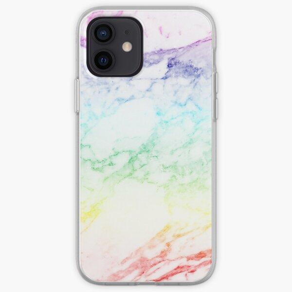 RAINBOW MARBLE iPhone Soft Case