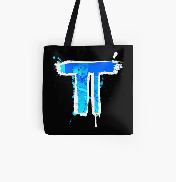Tilt - Graffiti Logo All Over Print Tote Bag