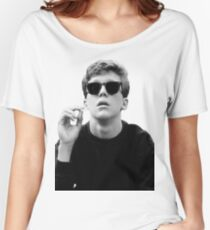 Black and White Brian Breakfast Club Women's Relaxed Fit T-Shirt