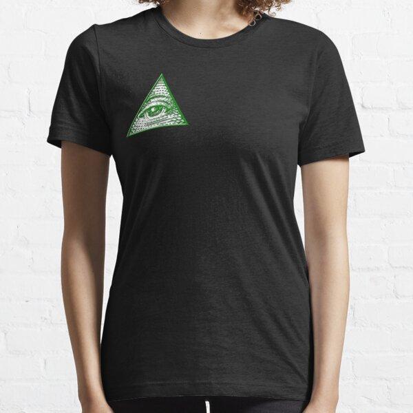 All Seeing Eye - Small logo Essential T-Shirt