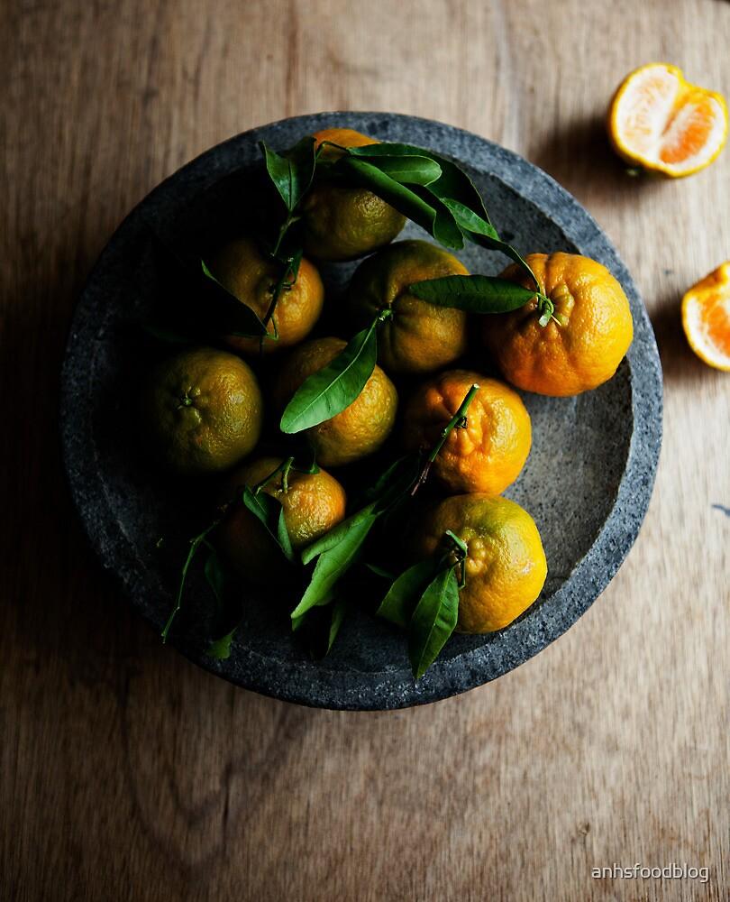 Fresh mandarins  by anhsfoodblog