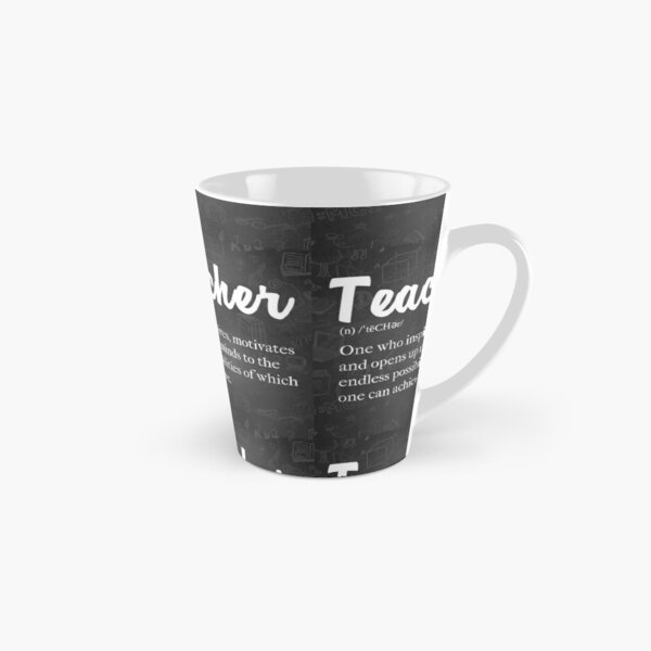 Teacher Defined: Proud to be a Teacher Tall Mug