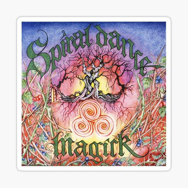 Spiral Dance Magick Sticker