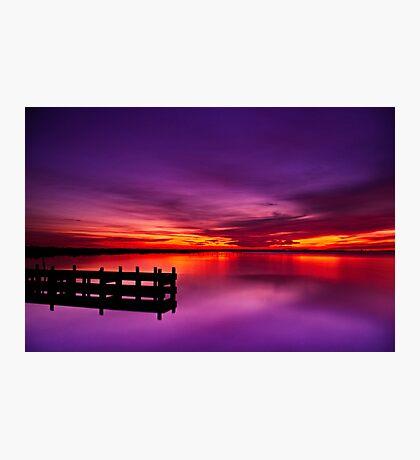 """Swan Bay Serenity"" Photographic Print"