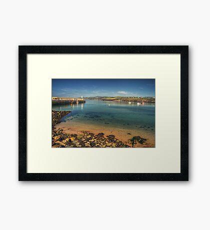 Peel Bay on a Summer's Day Framed Print