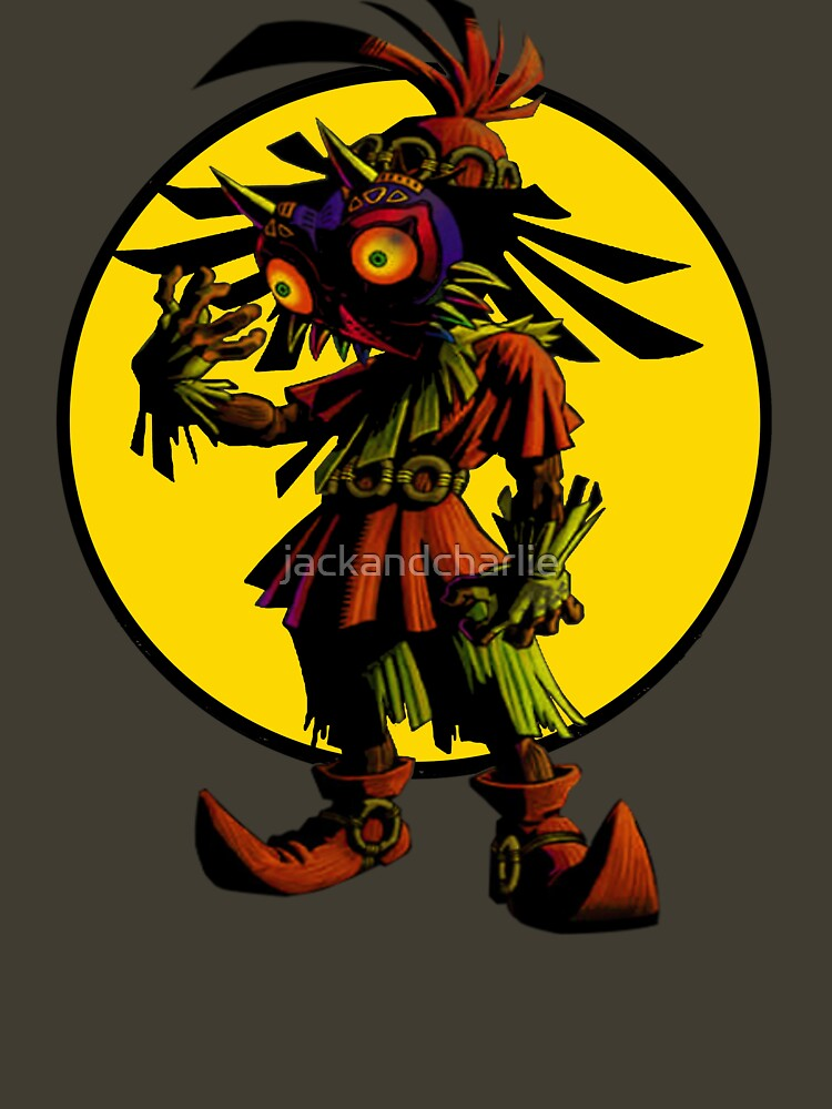 Zelda Majoras Mask Skull Kid  | Unisex T-Shirt