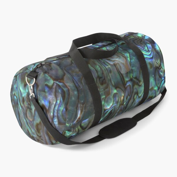 Abalone Shell | Paua Shell | Seashell Patterns | Sea Shells | Natural |  Duffle Bag