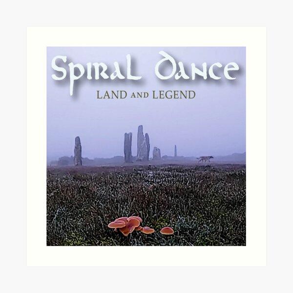 Spiral Dance Land and Legend Art Print