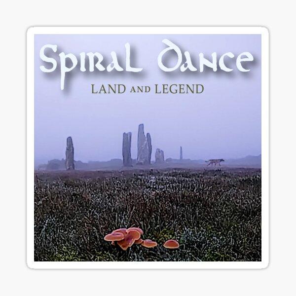 Spiral Dance Land and Legend Sticker