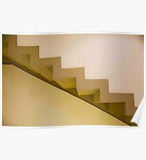 Staircase Monte Tauro Poster