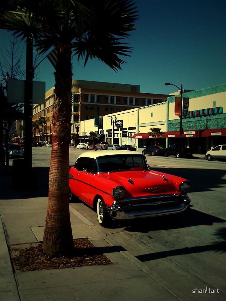 Old Car Crusing Califonia  by shan4art