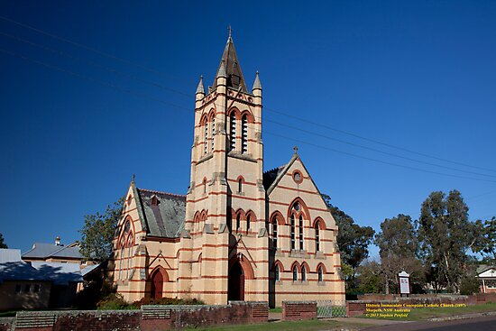 Immaculate Conception Catholic Church, Morpeth, NSW by SNPenfold