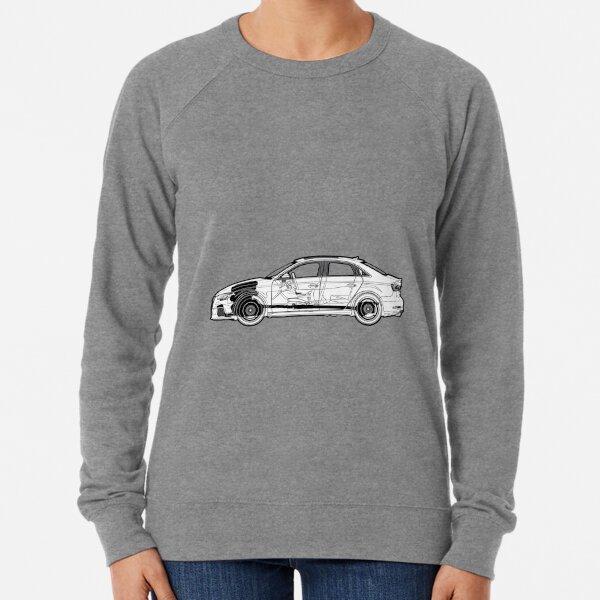 Audi Sweat à Capuche Sweat-shirt AUDI RS RACING CARS JDM Sweat à capuche