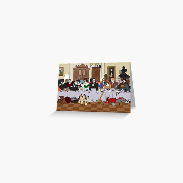The Last Supper at Boddy Mansion Greeting Card