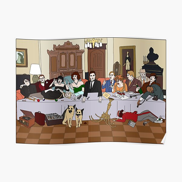 The Last Supper at Boddy Mansion Poster