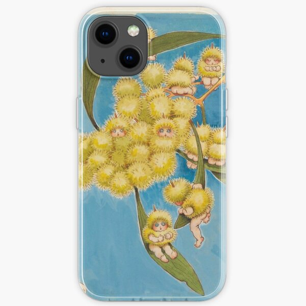 Wattle Babies - May Gibbs  iPhone Soft Case