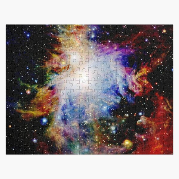 Galaxy Dark & Colorful Orion Nebula Jigsaw Puzzle