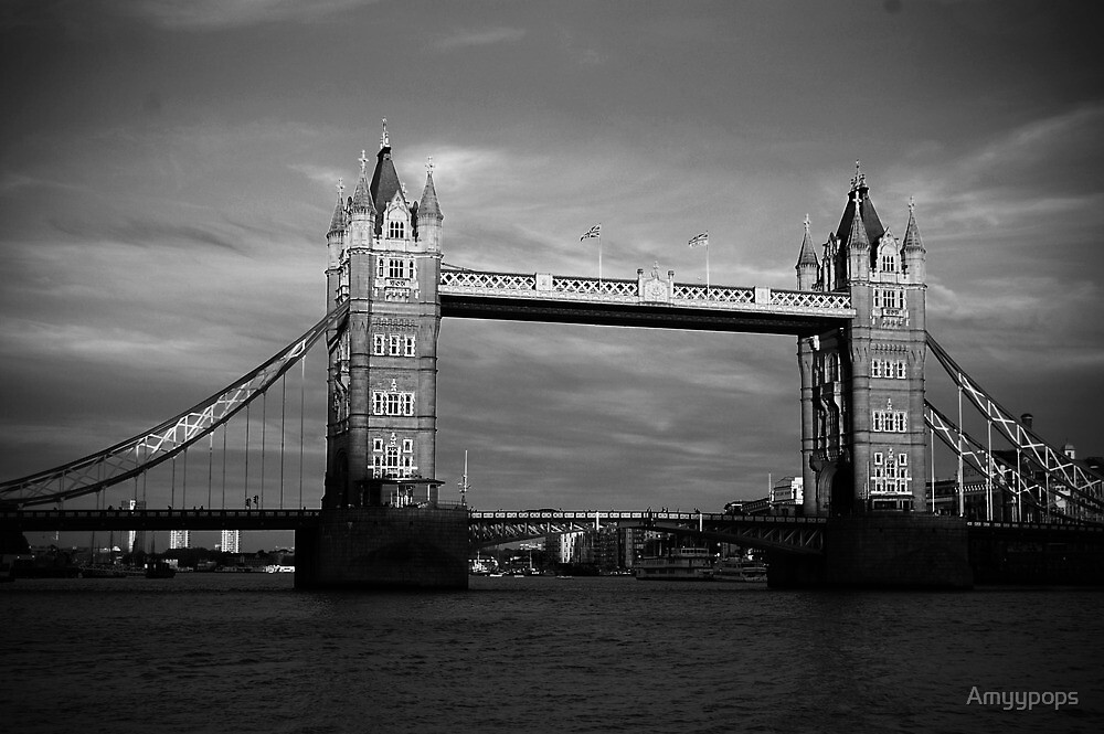 Tower Bridge by Amyypops