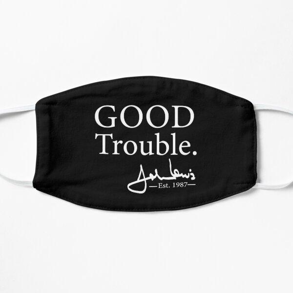 Good Trouble John Lewis Signature, est 1987 T-Shirt Mask