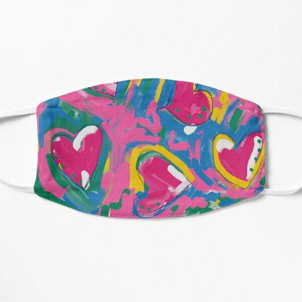Expressive Hearts Mask Flat Mask