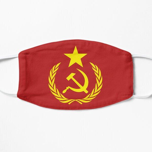 Communist Flag Flat Mask