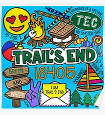 Trail's End Camp Poster